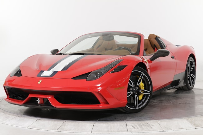2015 FERRARI 458 SPECIALE A CONV for sale in Plainview, NY at Maserati of Long Island