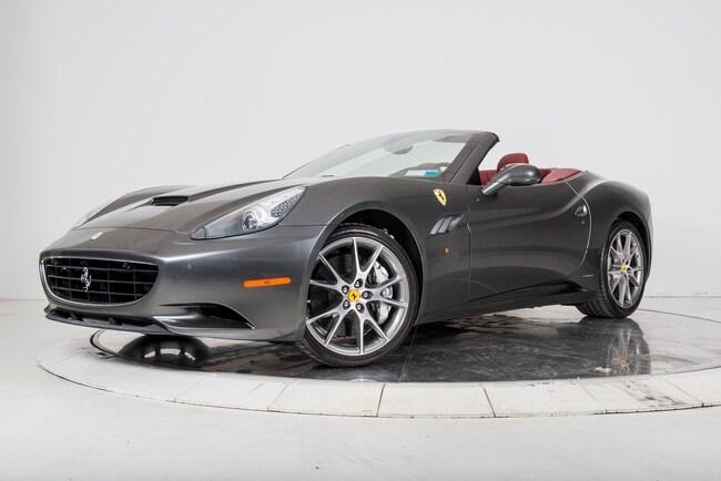 2013 FERRARI CALIFORNIA Convertible for sale in Plainview, NY at Maserati of Long Island