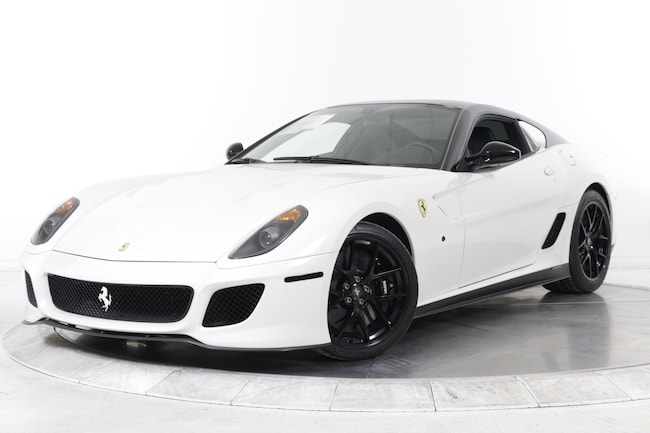 2011 FERRARI 599 GTO Coupe for sale in Plainview, NY at Maserati of Long Island