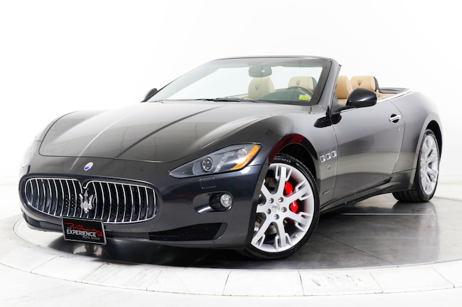 2015 MASERATI GT CONVERTIBLE Convertible for sale in Plainview, NY at Maserati of Long Island