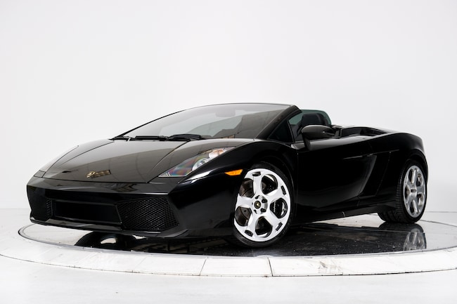 Used 2008 Lamborghini Gallardo Spyder For Sale Plainview Near Long
