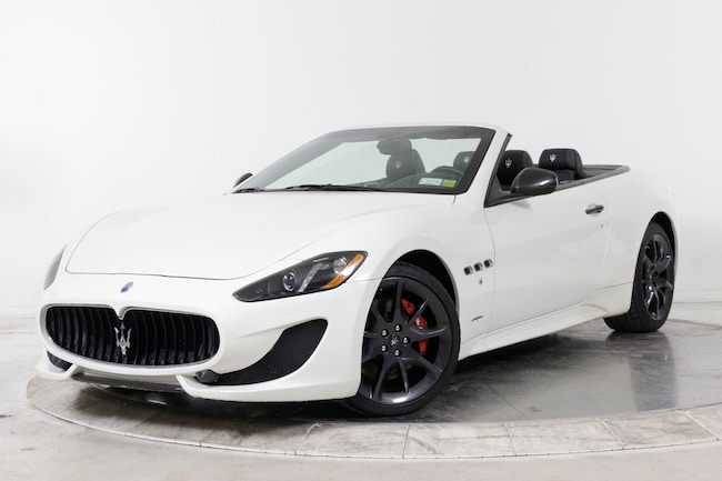 2013 MASERATI GT CONVERTIBLE SPORT Convertible for sale in Great Neck, NY at Gold Coast Maserati