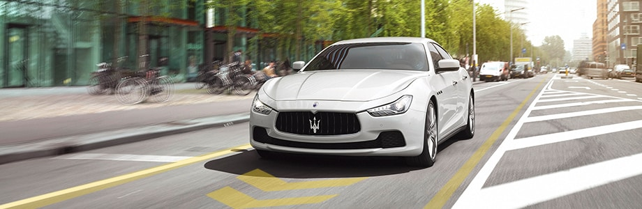 Maserati Ghibli Lane Departure Warning