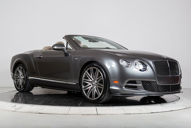 Used 2015 BENTLEY CONTINENTAL GTC SPEED For Sale   Plainview near ...