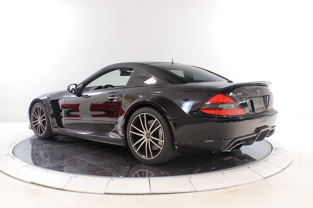 used 2009 mercedes benz sl65 amg black series for sale plainview near long island ny vin. Black Bedroom Furniture Sets. Home Design Ideas