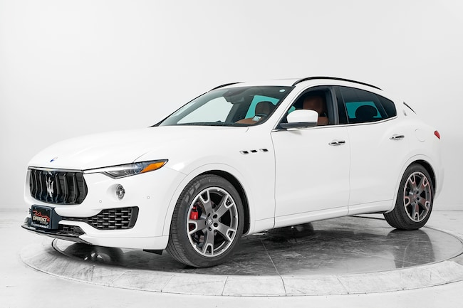 2017 MASERATI LEVANTE SUV for sale in Plainview, NY at Maserati of Long Island