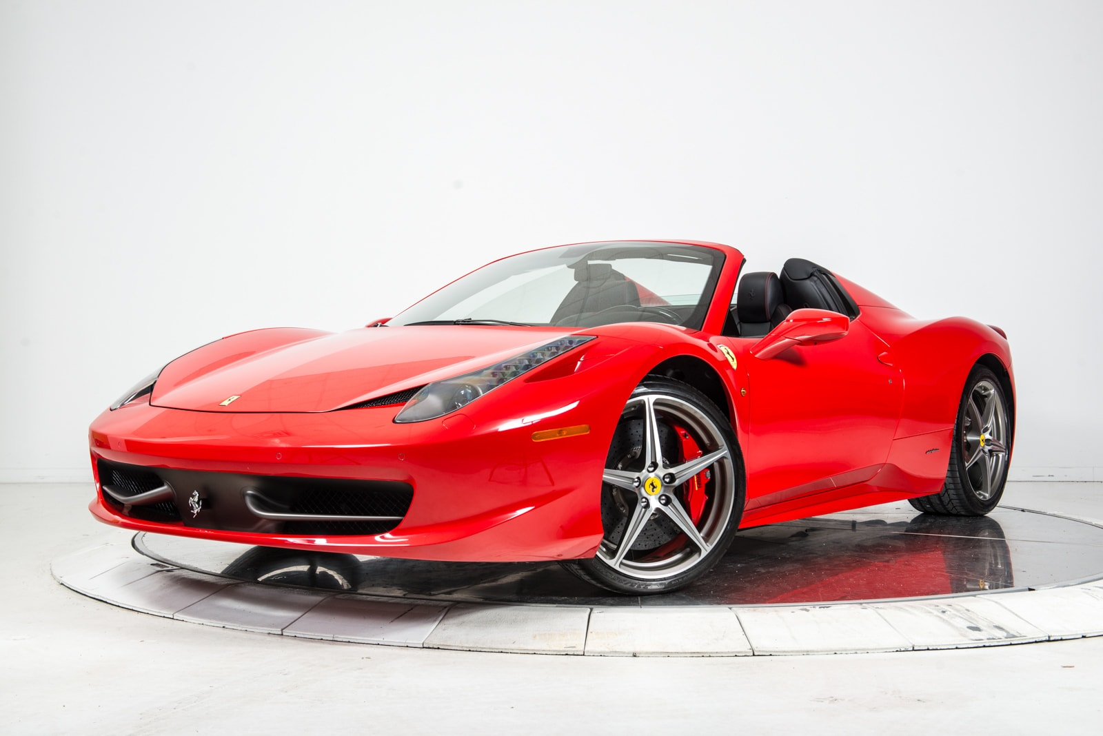 used 2014 ferrari 458 spider for sale plainview near long island ny vin zff68nha6e0196659. Black Bedroom Furniture Sets. Home Design Ideas