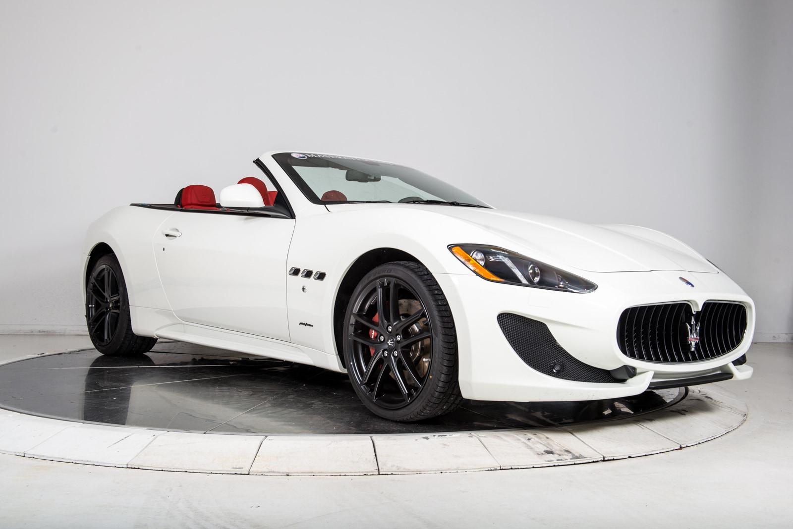 New 2017 maserati granturismo convertible for sale fort - Maserati granturismo red interior ...