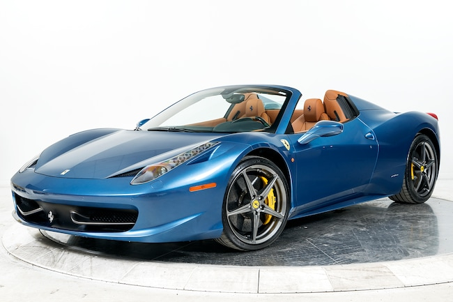 2013 FERRARI 458 SPIDER Convertible for sale in Fort Lauderdale, FL at Ferrari of Fort Lauderdale