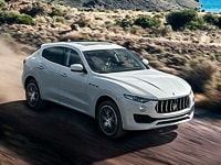 Maserati Levante off-road