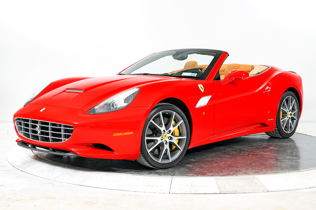2013 FERRARI CALIFORNIA Convertible for sale in Plainview, NY at Ferrari of Long Island