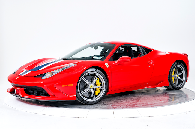 2015 FERRARI 458 SPECIALE Coupe for sale in Fort Lauderdale, FL at Ferrari of Fort Lauderdale