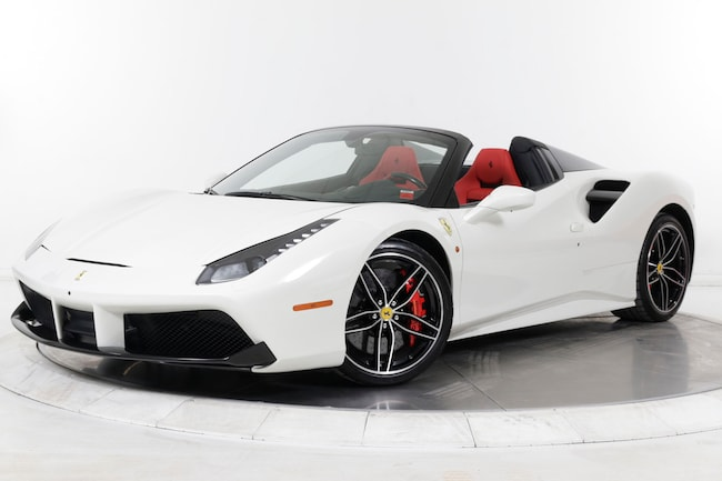 2017 FERRARI 488 SPIDER Convertible for sale in Plainview, NY at Ferrari of Long Island