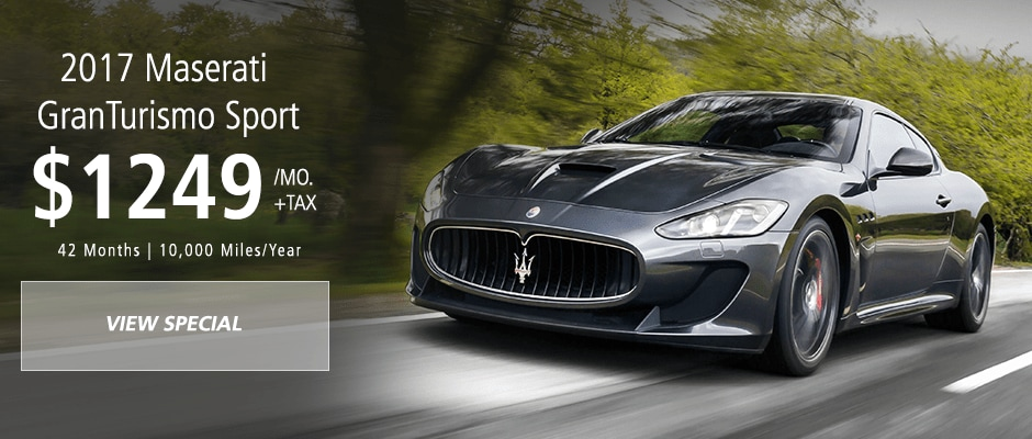 Maserati Granturismo Sport lease