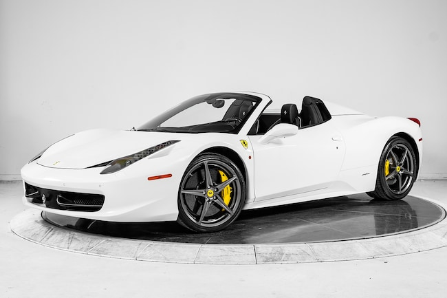 2014 FERRARI 458 SPIDER Convertible for sale in Plainview, NY at Ferrari of Long Island