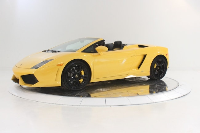 2011 LAMBORGHINI GALLARDO LP 560-4 SPYDER Convertible for sale in Plainview, NY at Maserati of Long Island