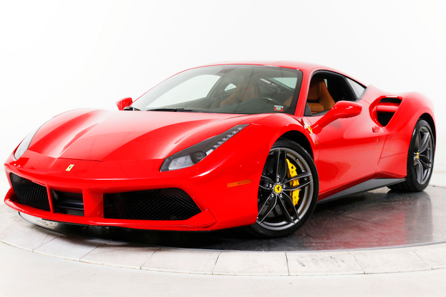 2018 FERRARI 488 GTB Coupe for sale in Plainview, NY at Maserati of Long Island