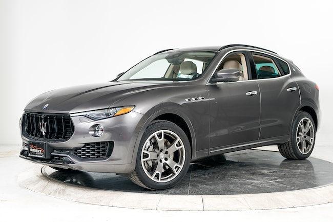 2017 MASERATI LEVANTE S SUV for sale in Plainview, NY at Maserati of Long Island
