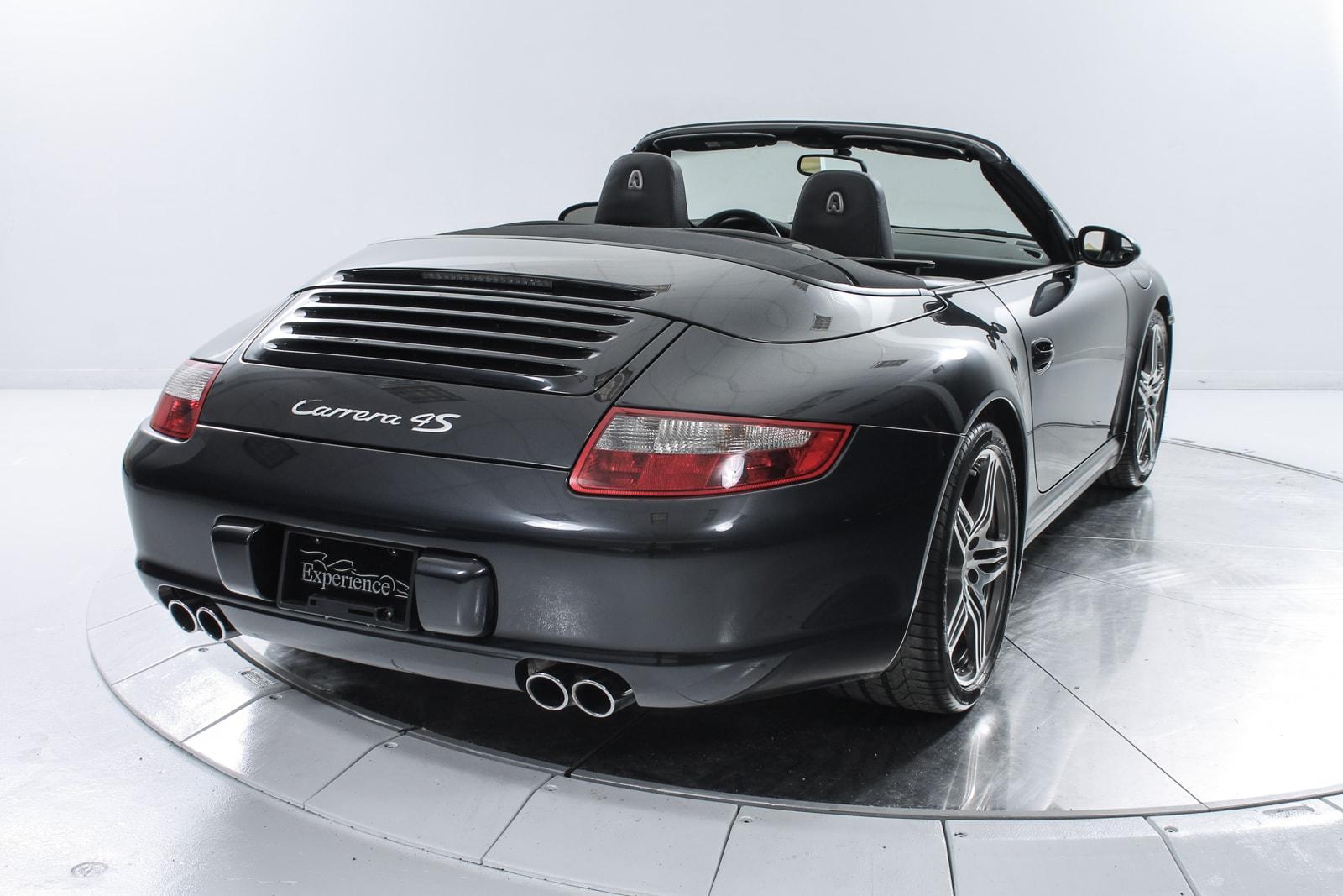used 2006 porsche 911 carrera 4s cabriolet for sale fort lauderdale fl. Black Bedroom Furniture Sets. Home Design Ideas