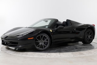2014 FERRARI 458 SPIDER Convertible in Fort Lauderdale, FL at Ferrari of Fort Lauderdale