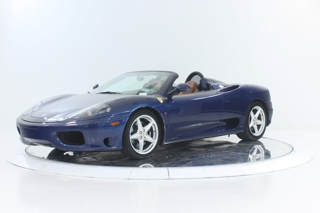 2004 FERRARI 360 SPIDER F1 Convertible for sale in Plainview, NY at Maserati of Long Island