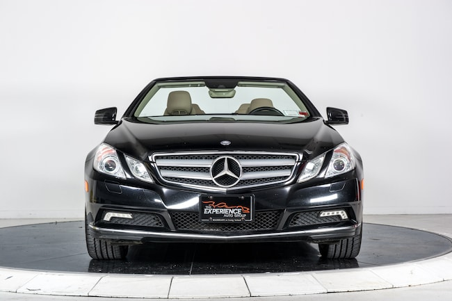 Used 2011 mercedes benz e350 cabriolet for sale for Mercedes benz of long island