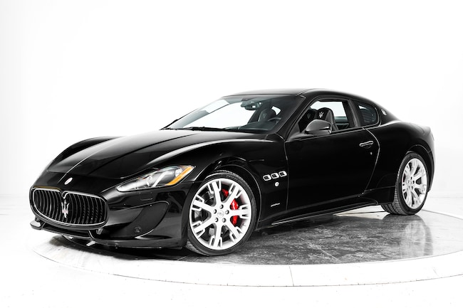 2014 MASERATI GRANTURISMO SPORT Coupe for sale in Fort Lauderdale, FL at Ferrari of Fort Lauderdale