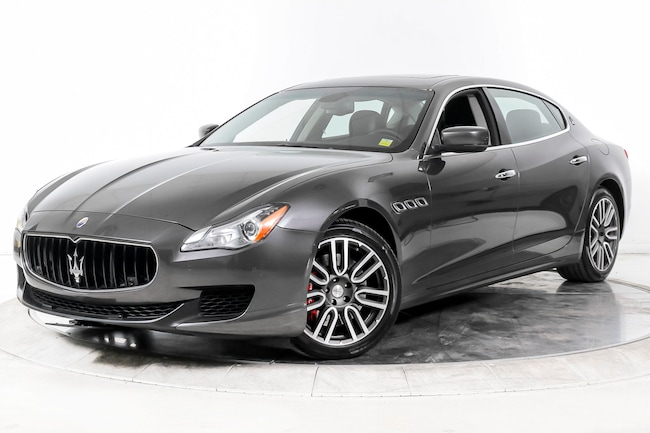 2015 MASERATI QUATTROPORTE S Q4 Sedan for sale in Fort Lauderdale, FL at Maserati of Fort Lauderdale
