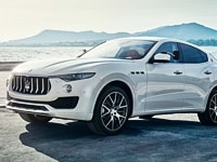 Maserati Levante towing