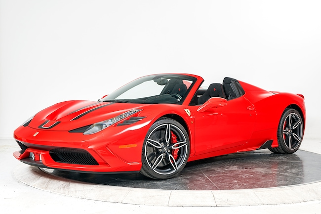 2015 FERRARI 458 SPECIALE A Convertible for sale in Plainview, NY at Maserati of Long Island
