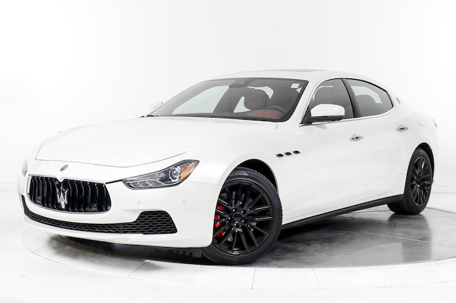 2017 MASERATI GHIBLI S Sedan for sale in Fort Lauderdale, FL at Maserati of Fort Lauderdale