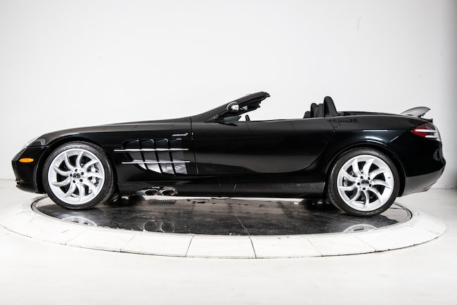 Used 2008 mercedes benz slr mclaren roadster for sale for Pre owned mercedes benz ny