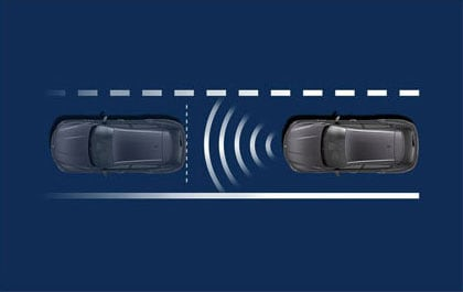Maserati Levante Forward Collision Warning