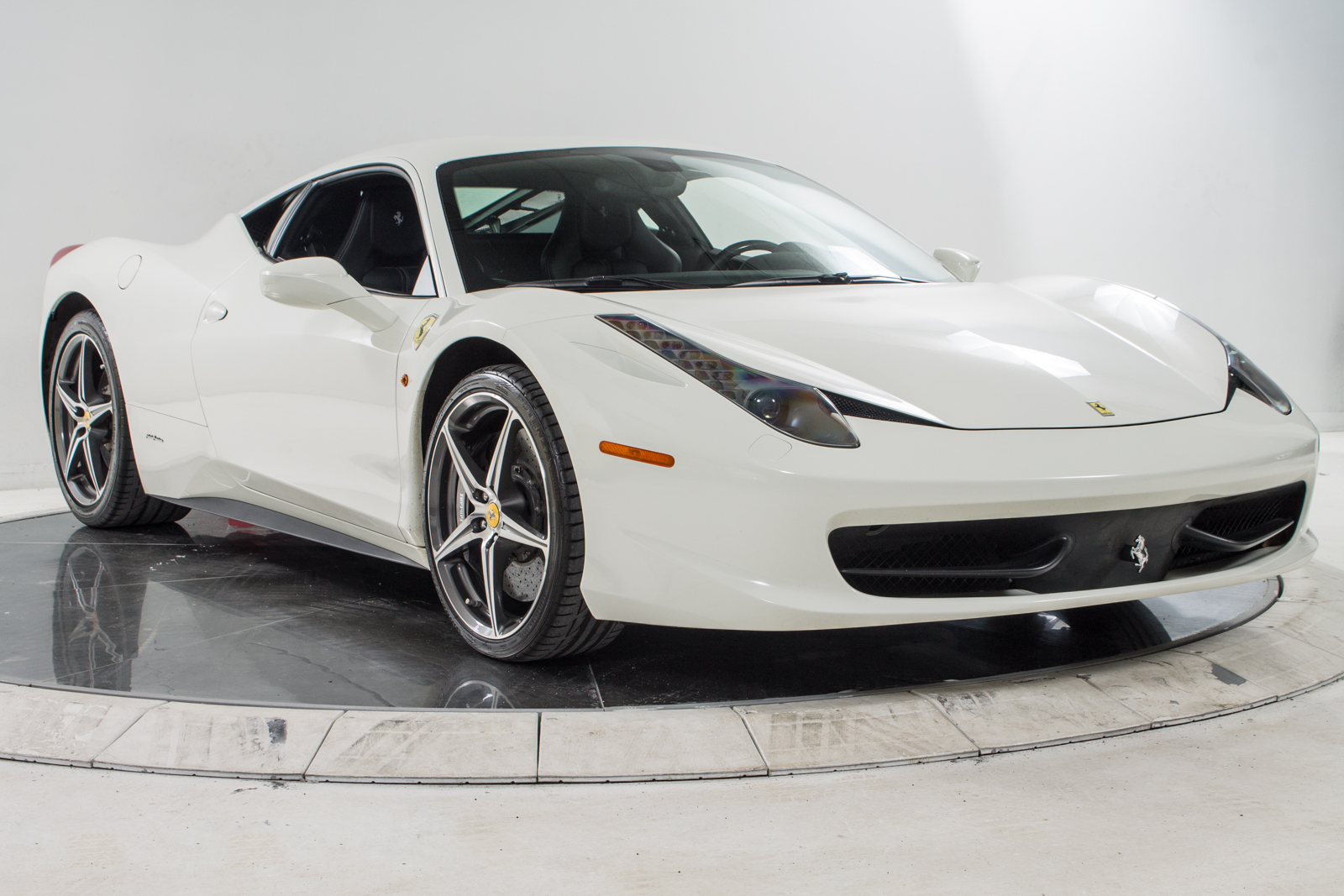 ferrari 2014 white. 2014 ferrari 458 italia coupe for sale in plainview ny at maserati of long island ferrari white