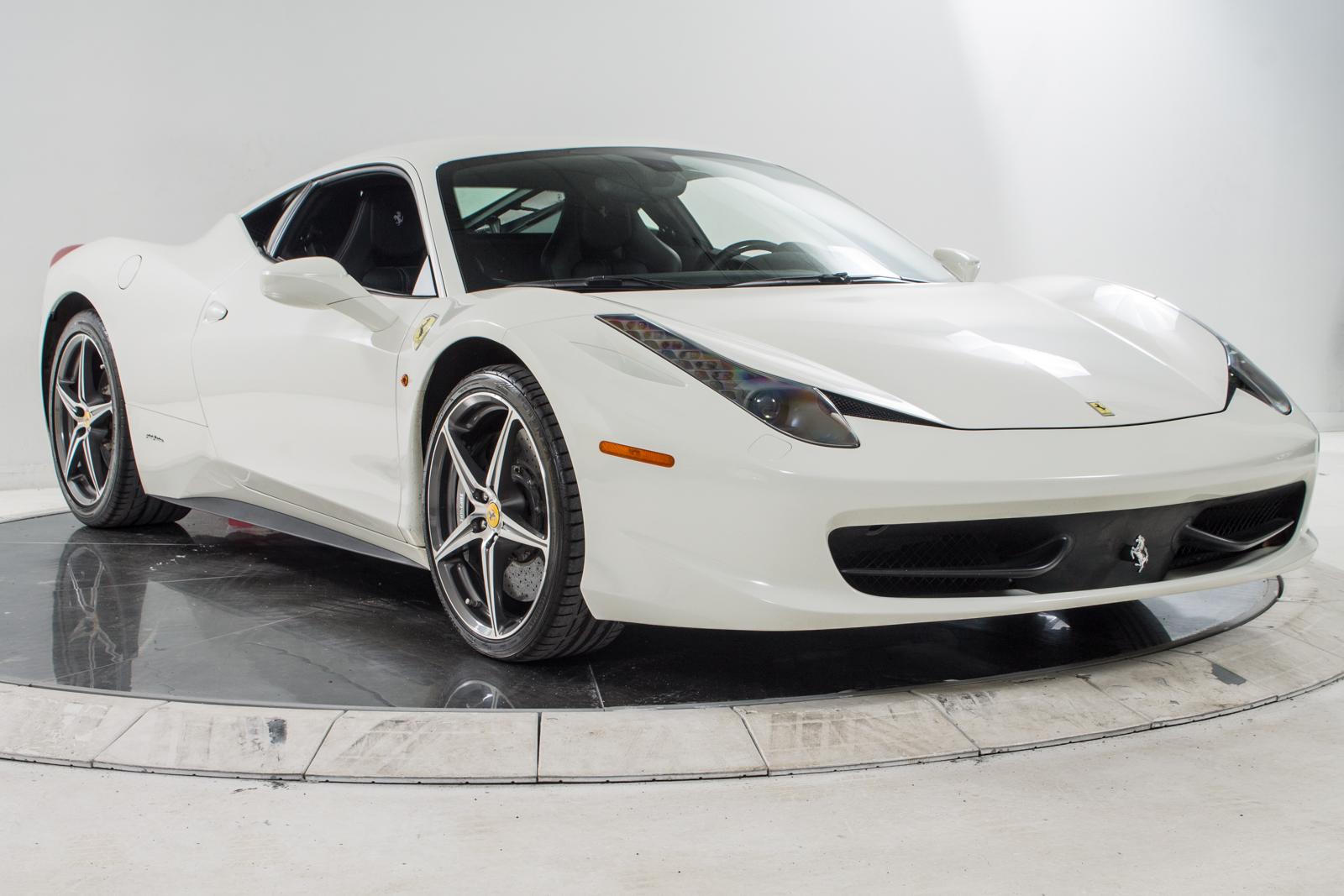 ferrari 2014 white. 2014 ferrari 458 italia coupe for sale in plainview ny at maserati of long island ferrari white