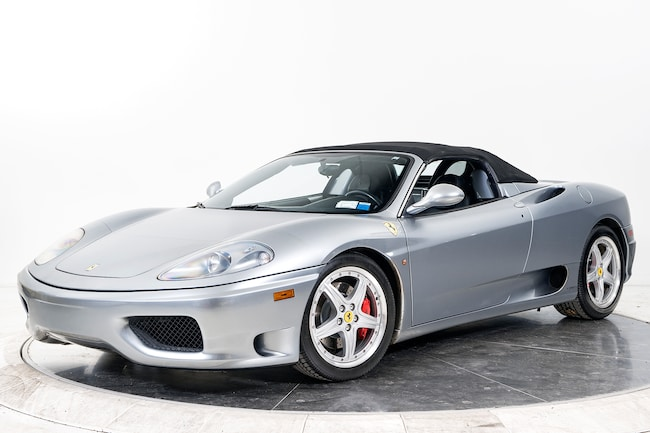 2003 FERRARI 360 SPIDER 6X Convertible for sale in Plainview, NY at Ferrari of Long Island