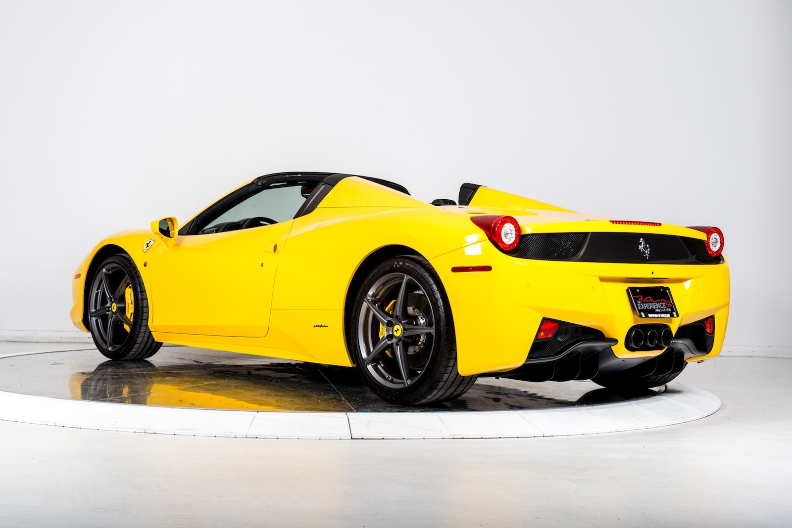 2014 ferrari 458 spider conv for sale in plainview ny at maserati of long island - Ferrari 2014 Yellow
