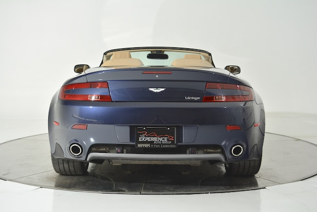 Used 2007 Aston Martin V8 Vantage Roadster Automatic For Sale
