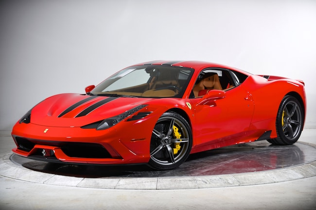 2015 FERRARI 458 SPECIALE Coupe for sale in Plainview, NY at Maserati of Long Island