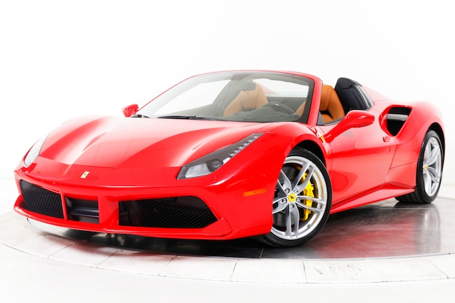 2018 FERRARI 488 SPIDER Convertible for sale in Plainview, NY at Maserati of Long Island