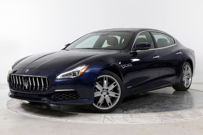 2018 MASERATI QUATTROPORTE S Q4 GRANLUSSO Sedan for sale in Plainview, NY at Ferrari of Long Island