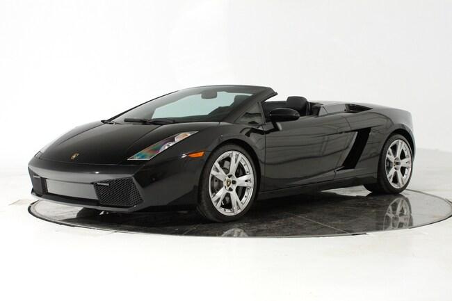 Used 2008 Lamborghini Gallardo Spyder For Sale Plainview