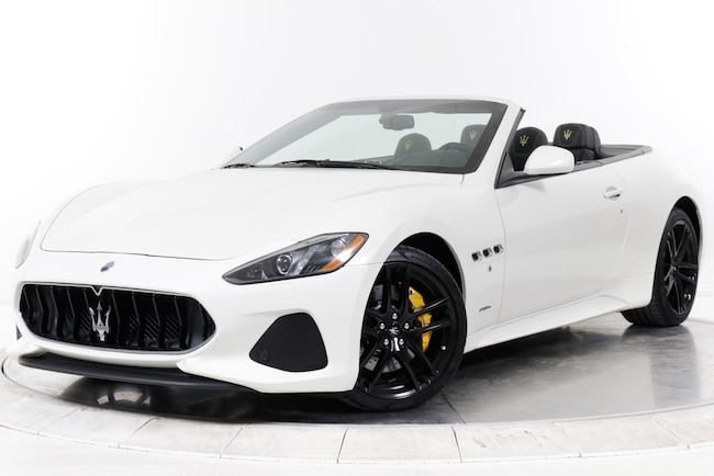 2018 MASERATI GT CONVERTIBLE SPORT Convertible for sale in Plainview, NY at Maserati of Long Island