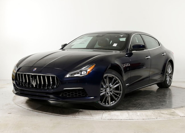 2019 MASERATI QUATTROPORTE S Q4 GRANLUSSO Sedan for sale in Plainview, NY at Maserati of Long Island