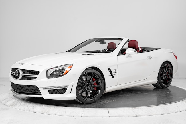 2013 MERCEDES-BENZ SL-CLASS SL63 AMG Convertible for sale in Fort Lauderdale, FL at Ferrari of Fort Lauderdale