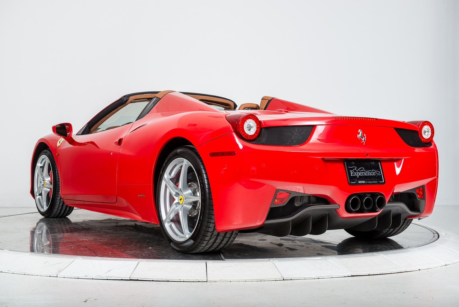 used 2015 ferrari 458 spider for sale plainview near long island ny vin zff68nha3f0207991. Black Bedroom Furniture Sets. Home Design Ideas