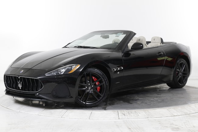 2018 MASERATI GT CONVERTIBLE SPORT Convertible for sale in Great Neck, NY at Gold Coast Maserati