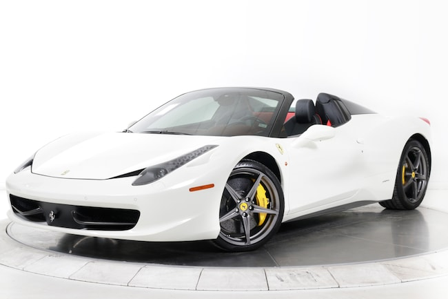 2014 FERRARI 458 SPIDER Convertible for sale in Plainview, NY at Maserati of Long Island