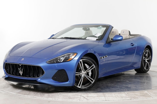 2018 MASERATI GT CONVERTIBLE SPORT Convertible for sale in Fort Lauderdale, FL at Ferrari of Fort Lauderdale