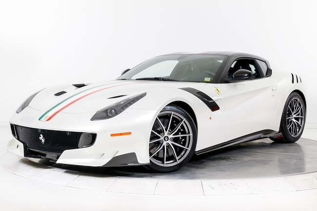 2017 FERRARI F12 TDF Coupe for sale in Plainview, NY at Maserati of Long Island